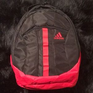 NWOT Adidas Stratton XL Backpack Red & Black